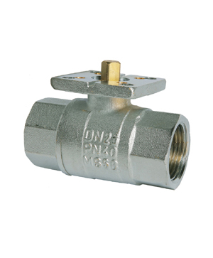 Albion 160 Threaded ISO Direct Mounting Ball Valve