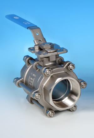 Kingdom KV-L30 ISO Direct Mounting Threaded End Ball Valve