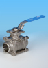 Kingdom KV-L31 ISO Direct Mounting Butt Welded End Ball Valve