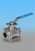 Kingdom KV-L9 Sanitary Ball Valve (Clamp Ends)