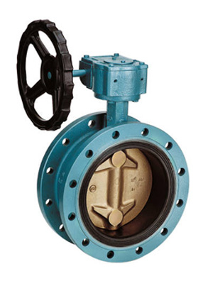 Ebro FO12-A Double Flanged Type Butterfly Valve