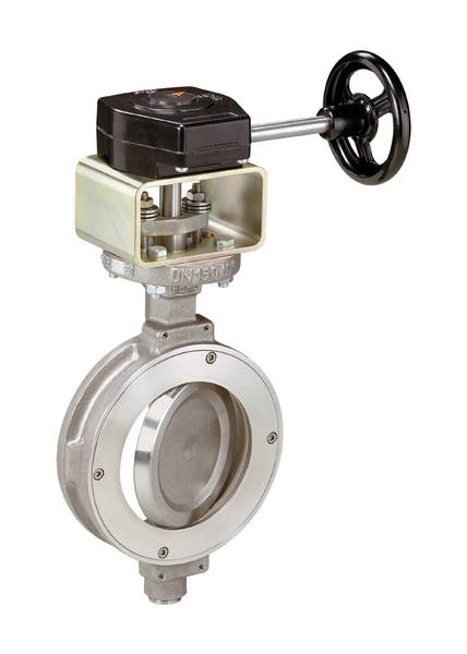 Ebro HP111 Double Eccentric Wafer Type Butterfly Valve
