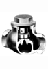 Hattersley 0123NR Threaded PN32 Bronze Vee-Reg Check Valve