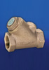 Hattersley 48 Threaded PN32 Bronze Oblique Swing Check Valve