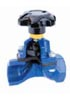 Saunders Type A Threaded Weir Type Diaphragm Valve