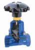 Saunders Type KB Threaded Straight Through Type Diaphragm Valve