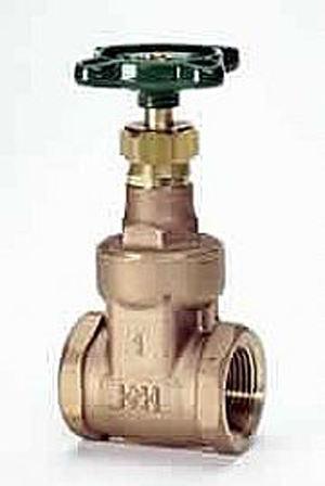 Hattersley 33 Threaded PN32 Bronze Wedge Gate Valve