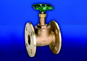 Hattersley 17 Flanged Bronze Globe Valve
