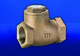 Hattersley 3047 Threaded PN25 Bronze Swing Check Valve with NBR Seat