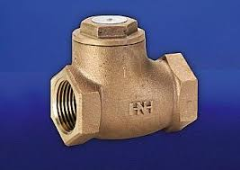 Hattersley Fig 47 Threaded PN25 Bronze Swing Check Valve