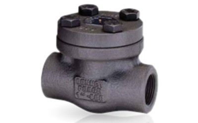 LVF Threaded Forged Steel Piston Check Valve